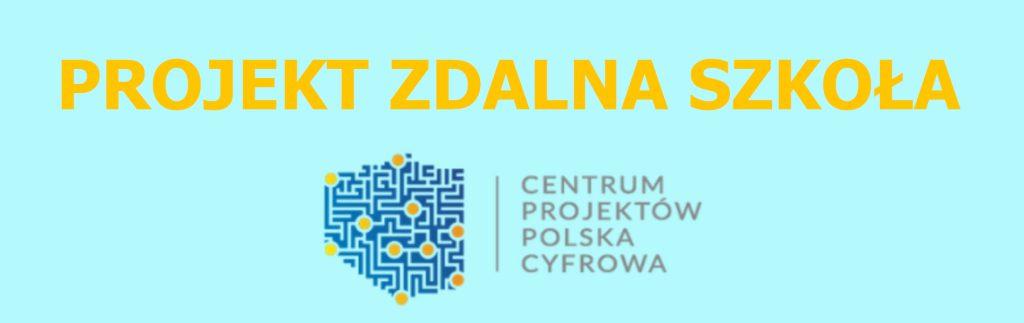 Logo Projekt Zdalna Szkoła