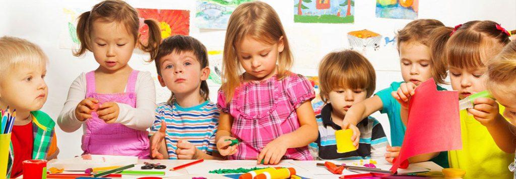 Zdjęcie dzieci w przedszkolu