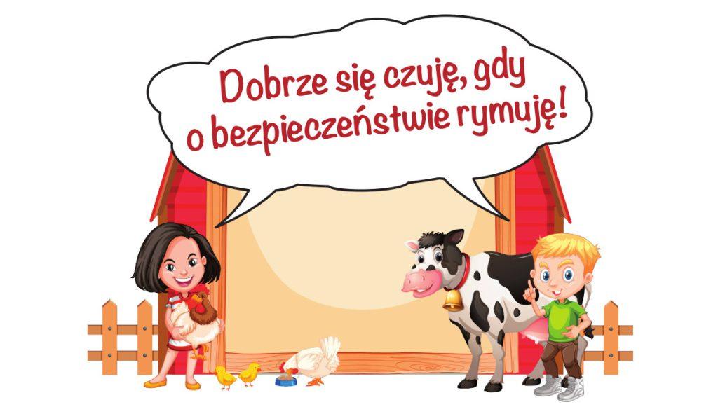 Plakat Konkurs KRUS Rymowanka 2020