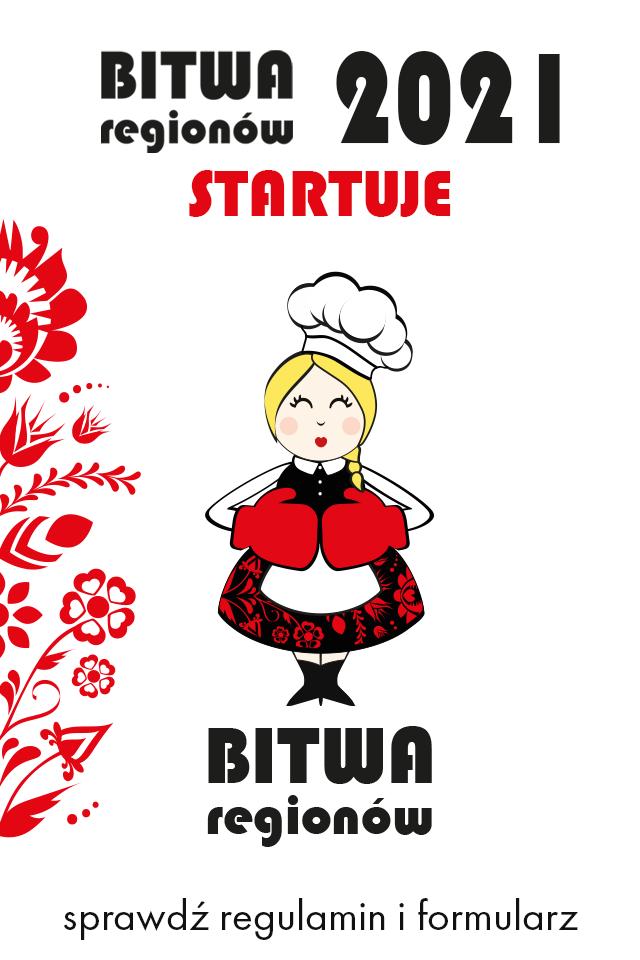 """Plakat """"Bitwa regionów"""""""