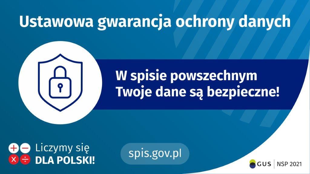 Plakat - Twoje dane są bezpieczne