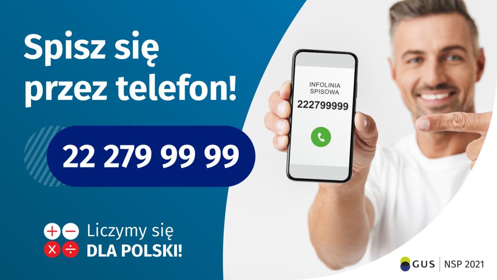 Baner - Spisz się przez telefon