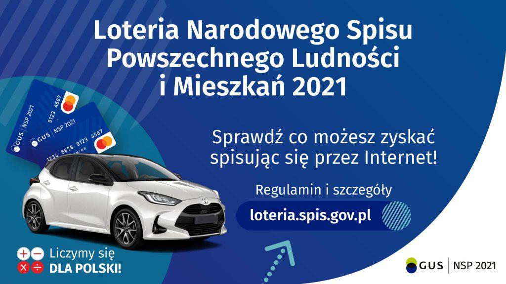 Plakat - wygraj samochód
