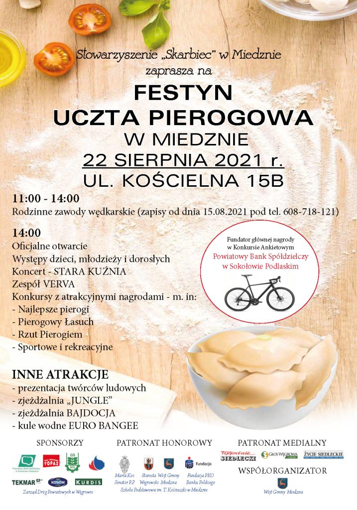 "Plakat ""Uczta Pierogowa"""